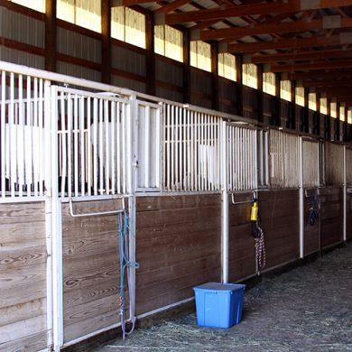 Indoor stalls